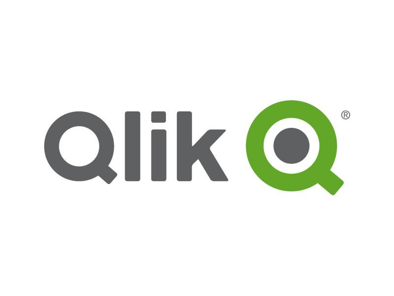 Logo of data visualisation software company Qlik